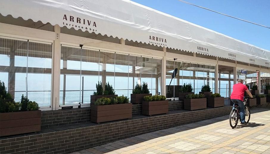 сборно-разборные кафе и веранды из бруса